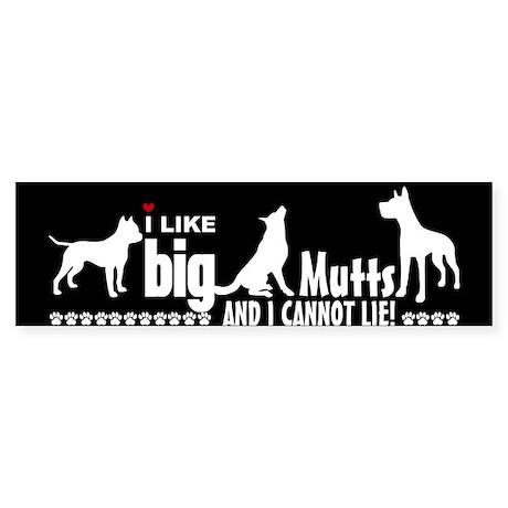 BigMuttsBS Bumper Sticker