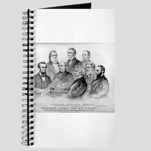 President Lincoln and his cabinet - 1876 Journal