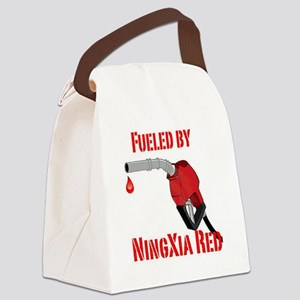 Fueled by Ningxia Red Canvas Lunch Bag