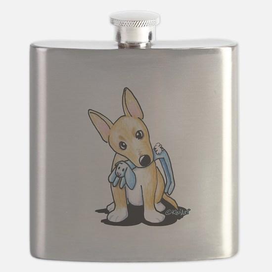 Portuguese Podengo Pequeno Flask
