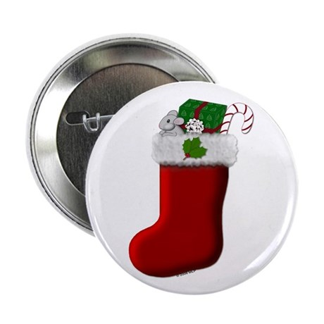 "Filled Stocking 2.25"" Button (100 pack)"