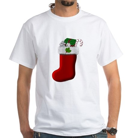 Filled Stocking White T-Shirt