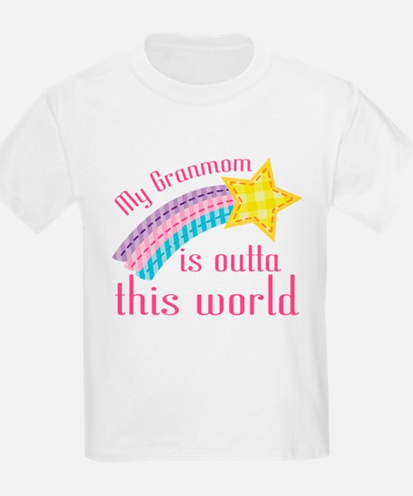 Granmom is Outta This World T-Shirt