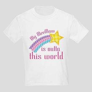 MeeMaw is Outta This World Kids Light T-Shirt