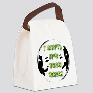 I cant, its tech week! Canvas Lunch Bag