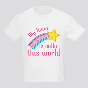 Nana is Outta This World Kids Light T-Shirt