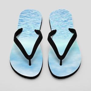 Sea of Serenity Flip Flops