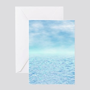 Sea of Serenity Greeting Card