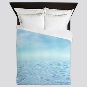 Sea of Serenity Queen Duvet