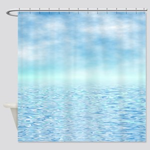 Sea of Serenity Shower Curtain