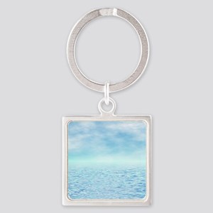 Sea of Serenity Square Keychain