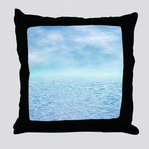 Sea of Serenity Throw Pillow