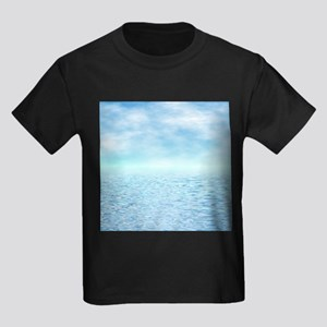 Sea of Serenity Kids Dark T-Shirt