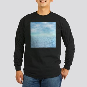 Sea of Serenity Long Sleeve Dark T-Shirt