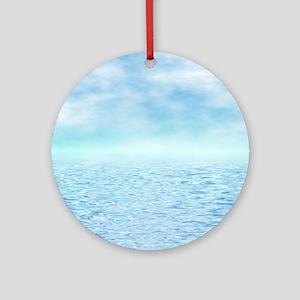 Sea of Serenity Ornament (Round)