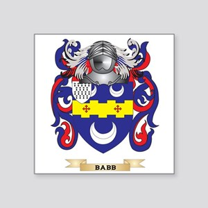 Babb Coat of Arms Sticker