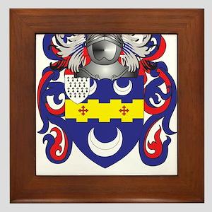 Babb Coat of Arms Framed Tile