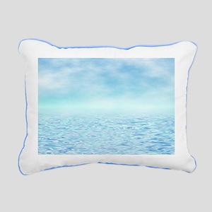Sea of Serenity Rectangular Canvas Pillow