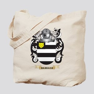 Babbage Coat of Arms Tote Bag