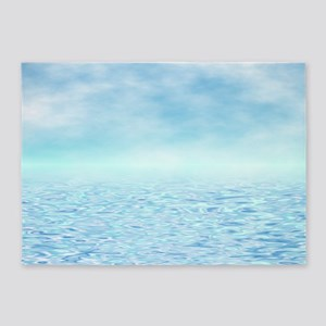 Sea of Serenity 5'x7'Area Rug