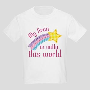 Gran is Outta This World Kids Light T-Shirt