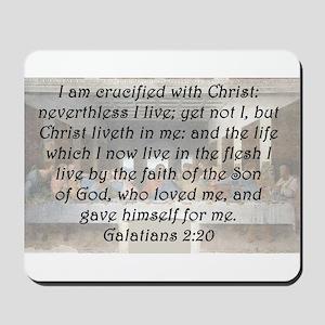 Galatians 2:20 Mousepad