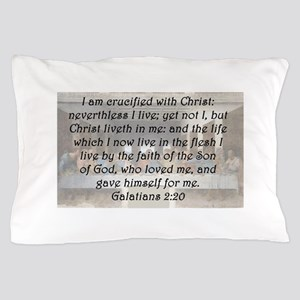 Galatians 2:20 Pillow Case