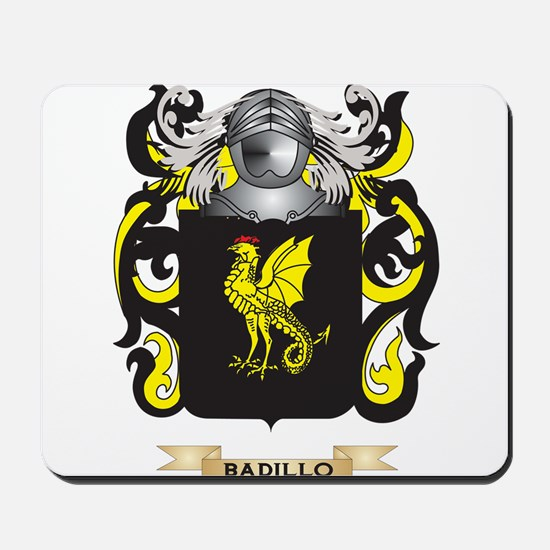 Badillo Coat of Arms Mousepad