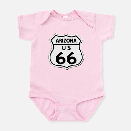 U.S. ROUTE 66 - AZ Infant Bodysuit