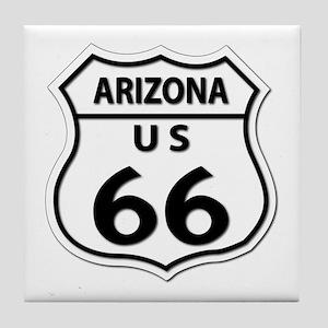 U.S. ROUTE 66 - AZ Tile Coaster