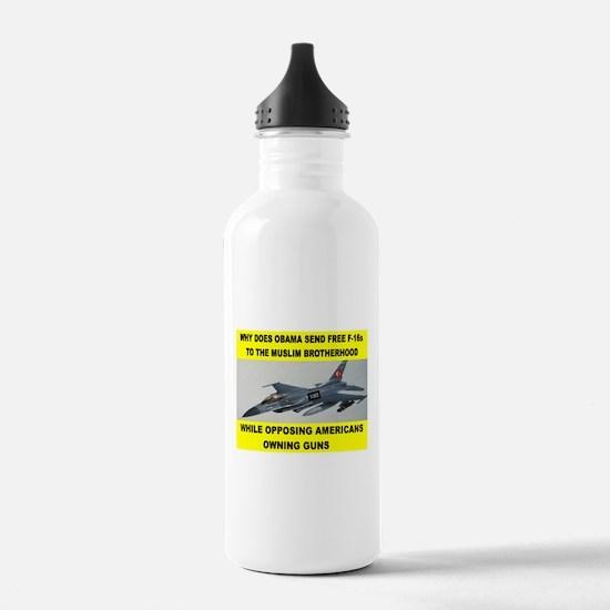 MUSLIM PLANES Water Bottle