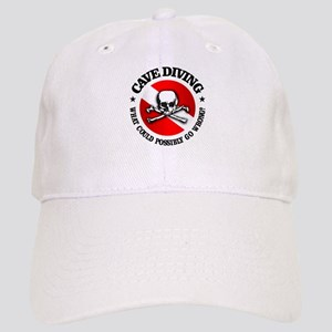 Cave Diving (Skull) Baseball Cap