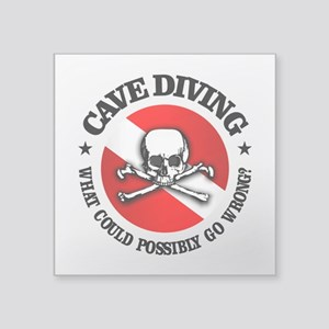 Cave Diving (Skull) Sticker