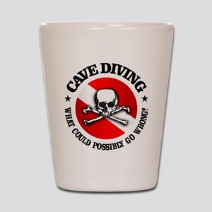 Cave Diving (Skull) Shot Glass