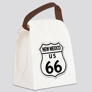 U.S. ROUTE 66 - NM Canvas Lunch Bag