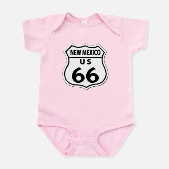 U.S. ROUTE 66 - NM Infant Bodysuit