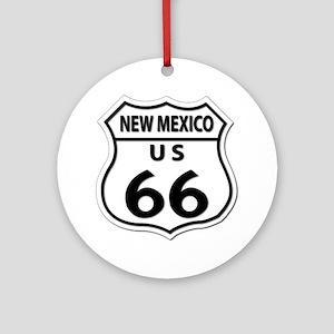 U.S. ROUTE 66 - NM Ornament (Round)