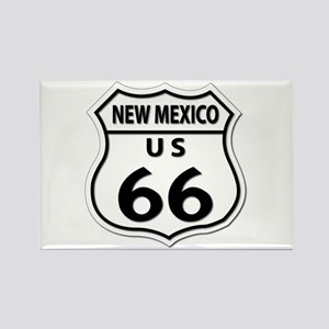 U.S. ROUTE 66 - NM Rectangle Magnet
