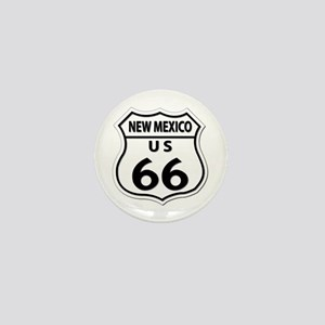 U.S. ROUTE 66 - NM Mini Button