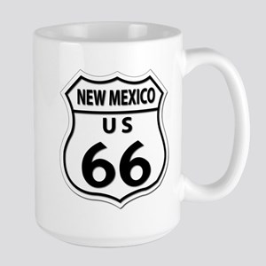U.S. ROUTE 66 - NM Large Mug