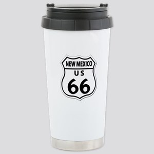U.S. ROUTE 66 - NM Stainless Steel Travel Mug