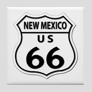 U.S. ROUTE 66 - NM Tile Coaster