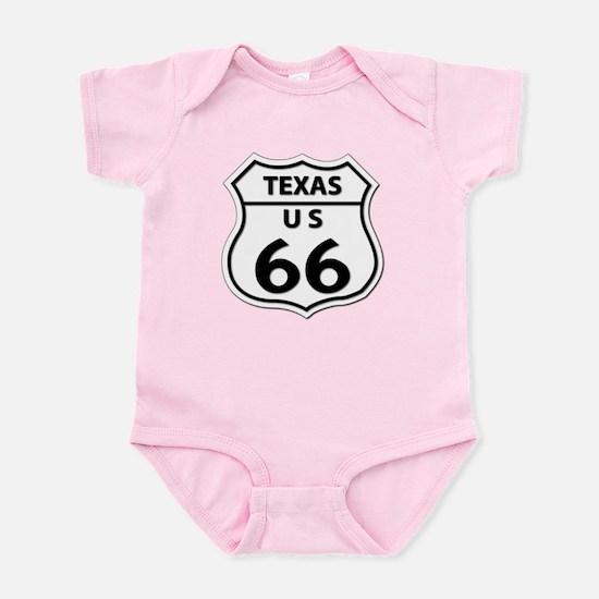 U.S. ROUTE 66 - TX Infant Bodysuit