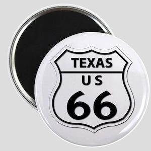 U.S. ROUTE 66 - TX Magnet