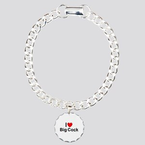 Big Cock Charm Bracelet, One Charm