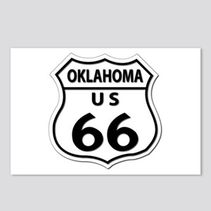 U.S. ROUTE 66 - OK Postcards (Package of 8)