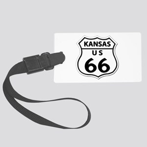 U.S. ROUTE 66 - KS Large Luggage Tag