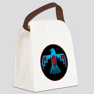 Red and Blue Thunderbird Canvas Lunch Bag