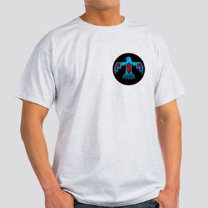 Red and Blue Thunderbird Light T-Shirt
