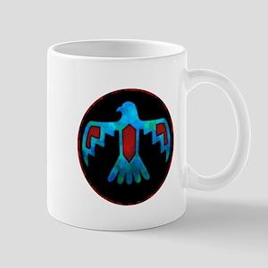 Red and Blue Thunderbird Mug